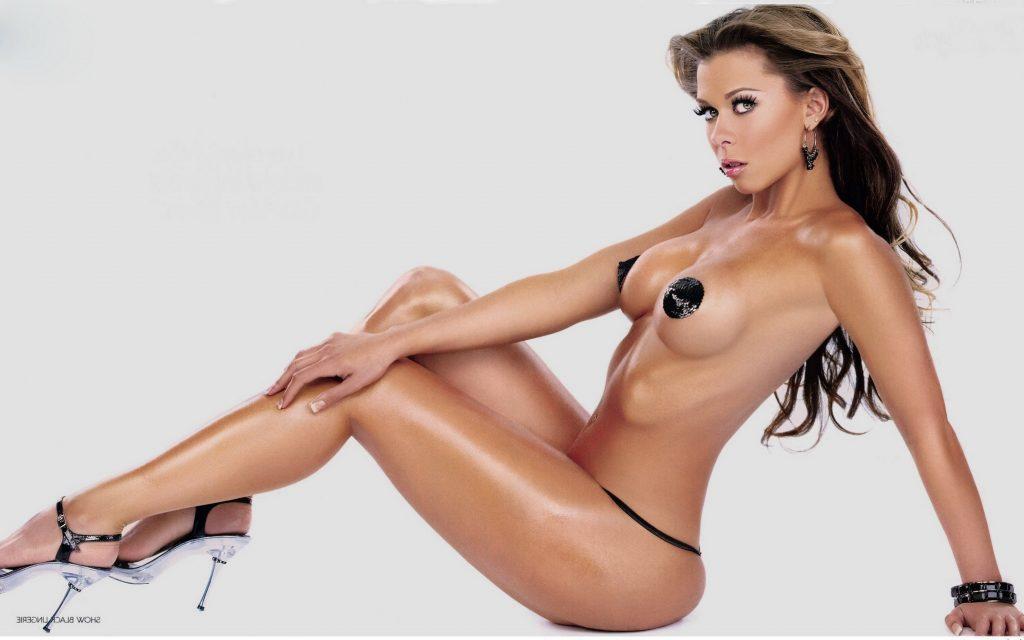 oiled lingerie brunette tits xLondonEscorts